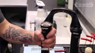 Rockshox SID Solo Air Lower Leg Service
