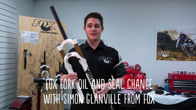 Service a Fox Float fork full oil service