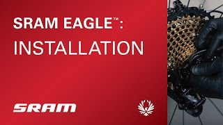 Install SRAM X01 EAGLE 12speed yourself