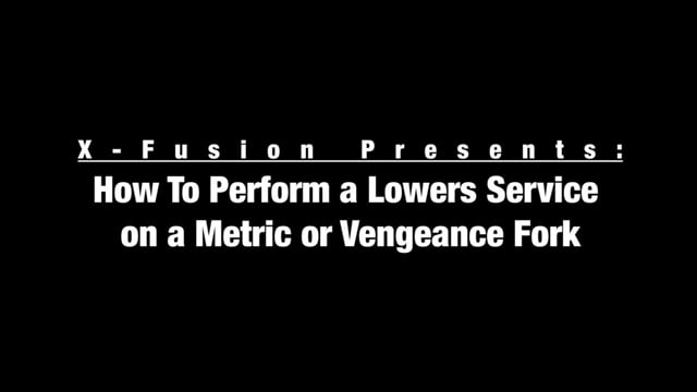 X-Fusion Metric - Vengeance Lowers Service