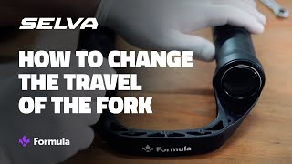 How to adjust travel for Formula forks