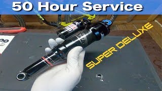 RockShox SUPER DELUXE 50 Hour Service Tutorial