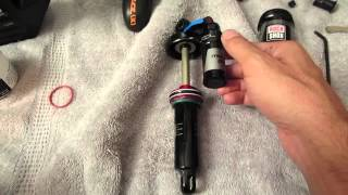 How to service a rockshox monarch plus shock