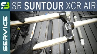 SR Suntour XCR Air LOR Suspension Fork Service.